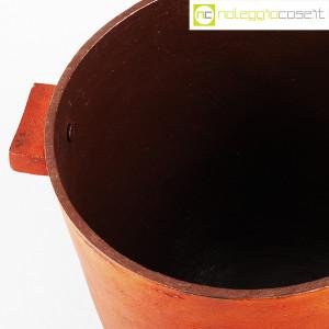 Vaso in metallo color ruggine (7)