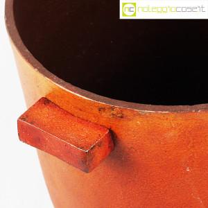 Vaso in metallo color ruggine (9)