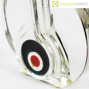 Vaso monofiore in vetro trasparente (5)
