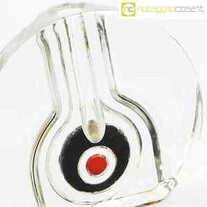 Vaso monofiore in vetro trasparente (6)