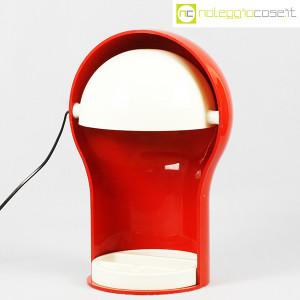 Artemide, lampada Telegono rossa, Vico Magistretti (1)