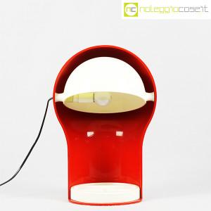 Artemide, lampada Telegono rossa, Vico Magistretti (2)