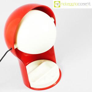 Artemide, lampada Telegono rossa, Vico Magistretti (4)