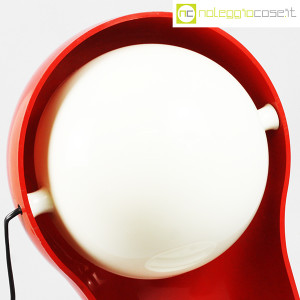 Artemide, lampada Telegono rossa, Vico Magistretti (5)