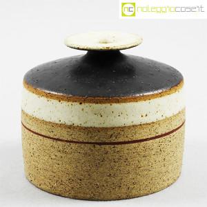 Ceramiche Gambone, piccolo vaso basso, Bruno Gambone (1)