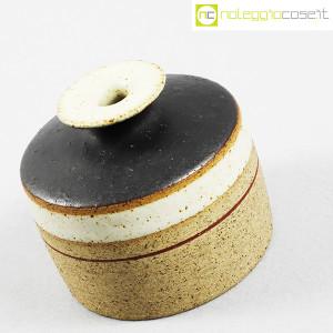 Ceramiche Gambone, piccolo vaso basso, Bruno Gambone (3)