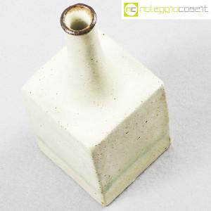 Ceramiche Gambone, piccolo vaso bianco, Bruno Gambone (4)
