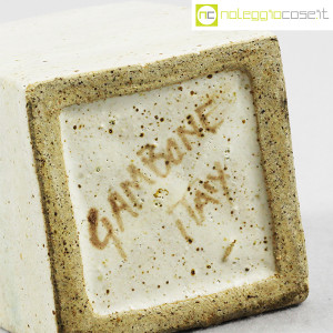Ceramiche Gambone, piccolo vaso bianco, Bruno Gambone (8)