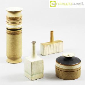 Ceramiche Gambone, piccolo vaso bianco, Bruno Gambone (9)