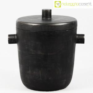 Contenitore porta ghiaccio in legno nero (1)