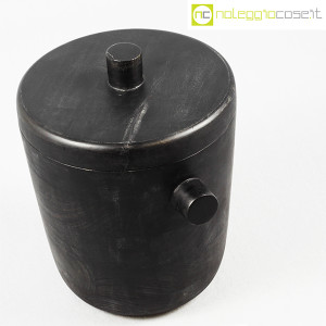 Contenitore porta ghiaccio in legno nero (4)