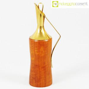 Macabo, brocca termica in legno e ottone, Aldo Tura (1)
