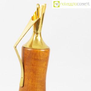 Macabo, brocca termica in legno e ottone, Aldo Tura (5)