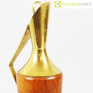 Macabo, brocca termica in legno e ottone, Aldo Tura (6)