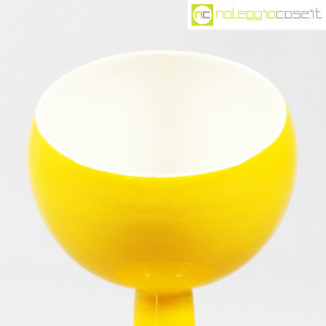 Pagnossin Ceramiche, contenitore giallo in ceramica (5)