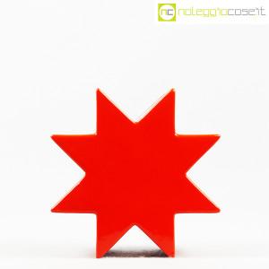 Cedit, vaso Hsing a stella rosso, Ettore Sottsass (2)