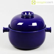 Ceramiche Pozzi contenitore blu
