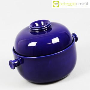 Ceramiche Franco Pozzi, grande contenitore blu serie Forma TR13, Ambrogio Pozzi (2)