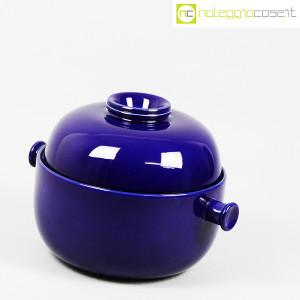 Ceramiche Franco Pozzi, grande contenitore blu serie Forma TR13, Ambrogio Pozzi (3)