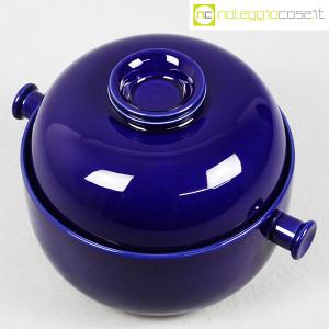 Ceramiche Franco Pozzi, grande contenitore blu serie Forma TR13, Ambrogio Pozzi (4)