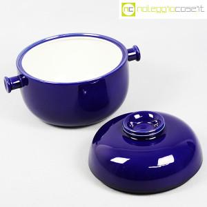 Ceramiche Franco Pozzi, grande contenitore blu serie Forma TR13, Ambrogio Pozzi (5)
