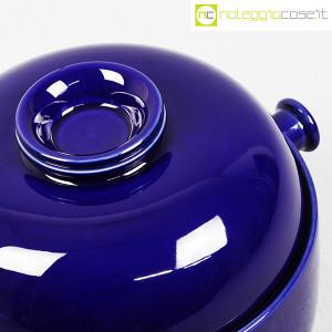 Ceramiche Franco Pozzi, grande contenitore blu serie Forma TR13, Ambrogio Pozzi (6)