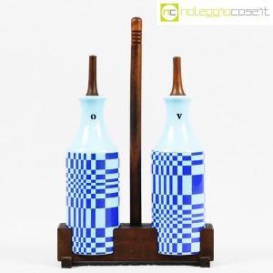 Ceramiche Franco Pozzi, set olio e aceto serie Rossana, Ambrogio Pozzi (1)