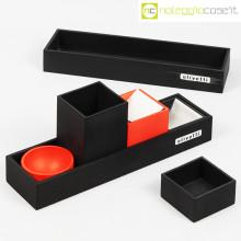 Olivetti set da scrivania nero