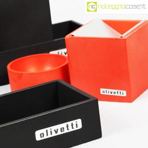 Olivetti, set da scrivania nero, Bruno Munari (8)