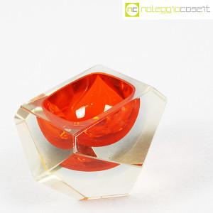 Posacenere sfaccettato in vetro di Murano (3)