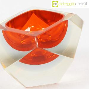 Posacenere sfaccettato in vetro di Murano (6)