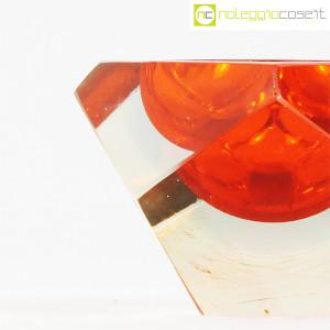 Posacenere sfaccettato in vetro di Murano (7)