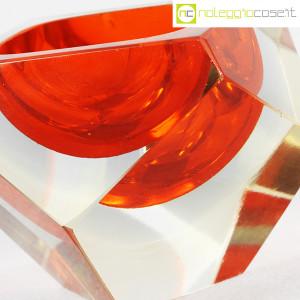 Posacenere sfaccettato in vetro di Murano (9)