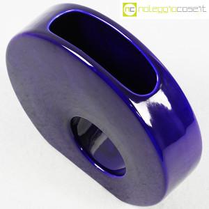 Vaso blu tondo con buco tondo (4)