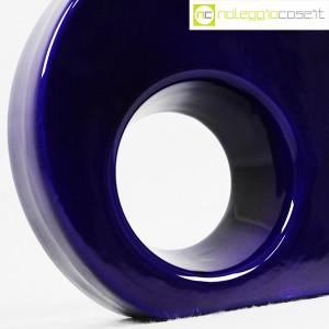 Vaso blu tondo con buco tondo (9)