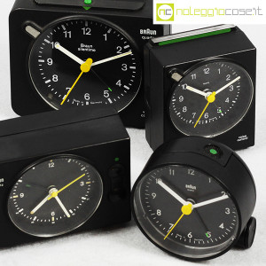 Braun, orologi da tavolo vari, Dieter Rams, Dietrich Lubs (5)