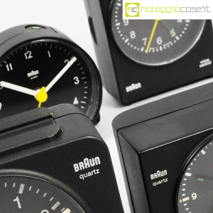 Braun, orologi da tavolo vari, Dieter Rams, Dietrich Lubs (9)