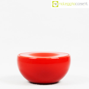 Ceramiche Franco Pozzi, posacenere rosso, Ambrogio Pozzi (2)