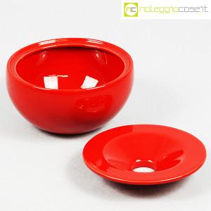 Ceramiche Franco Pozzi, posacenere rosso, Ambrogio Pozzi (5)