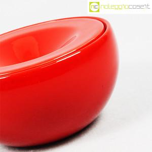 Ceramiche Franco Pozzi, posacenere rosso, Ambrogio Pozzi (6)
