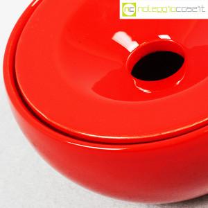Ceramiche Franco Pozzi, posacenere rosso, Ambrogio Pozzi (7)