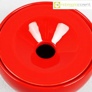 Ceramiche Franco Pozzi, posacenere rosso, Ambrogio Pozzi (8)