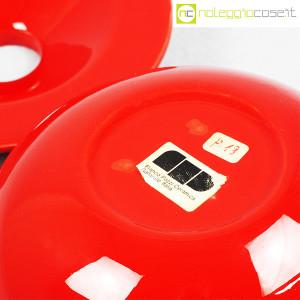 Ceramiche Franco Pozzi, posacenere rosso, Ambrogio Pozzi (9)