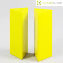 Ceramiche Pozzi vasi gialli Triangoli