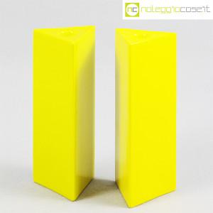 Ceramiche Franco Pozzi, vasi gialli serie Triangoli, Ambrogio Pozzi (1)