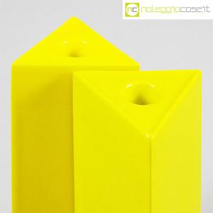 Ceramiche Franco Pozzi, vasi gialli serie Triangoli, Ambrogio Pozzi (5)