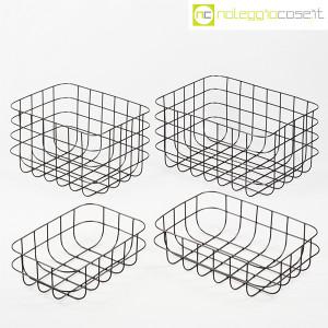 Cestini neri in rete metallica (1)