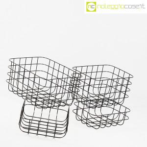 Cestini neri in rete metallica (3)