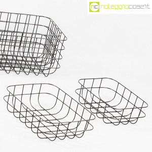 Cestini neri in rete metallica (5)