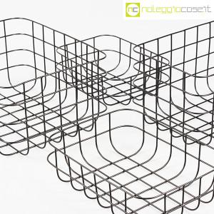 Cestini neri in rete metallica (7)